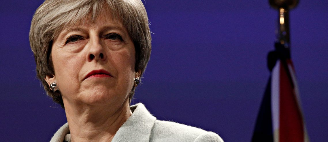 Theresa May Creating Dangerous Divisions as UK Heads Over the Cliff