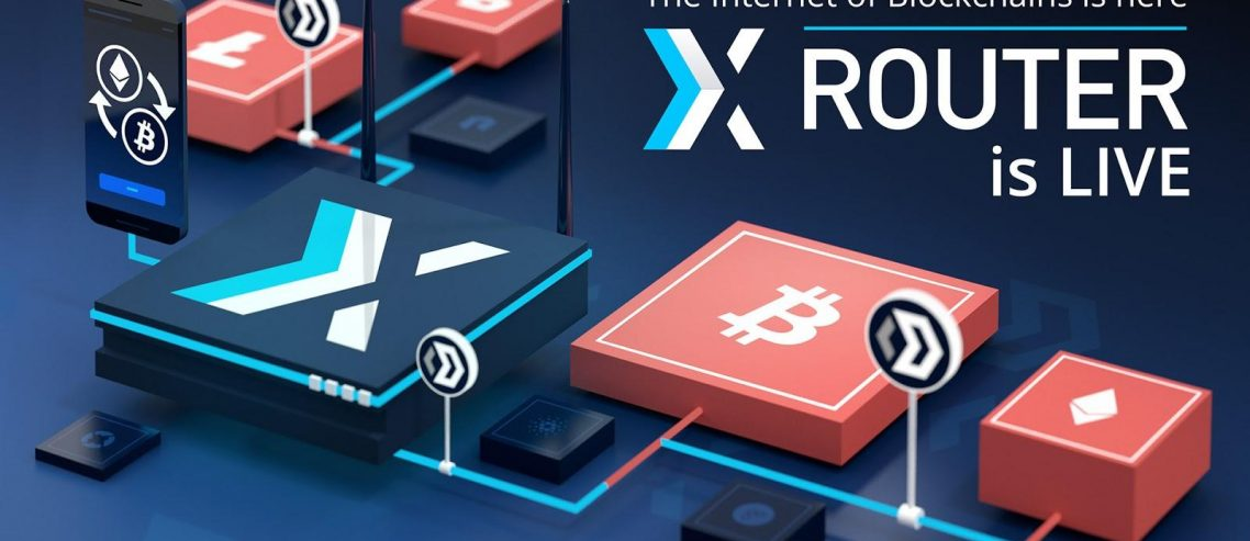 Introducing XRouter. Developers Can Now Mix And Match Any Blockchain Via The World's First Blockchain Router