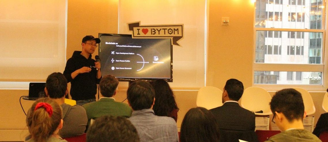 Bytom Hosts a Digital Assets Conference in New York Blockchain Week and Announces the Launch of 2019 Bytom Global Dev Competition
