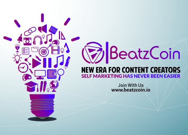 Hitting the Digital Content with BeatzCoin